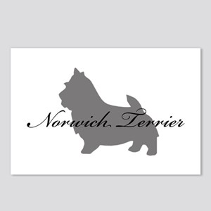 Norwich Terrier Postcards (Package of 8)