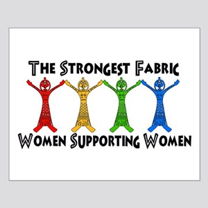 Women Supporting Women Small Poster
