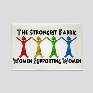 Women Supporting Women Rectangle Magnet (10 pack)