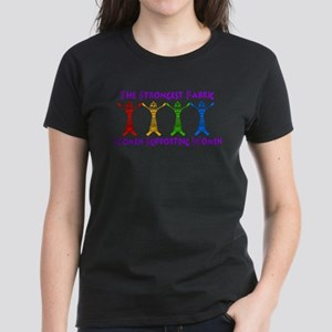 Women Supporting Women Women's Dark T-Shirt