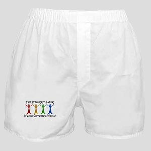 Women Supporting Women Boxer Shorts