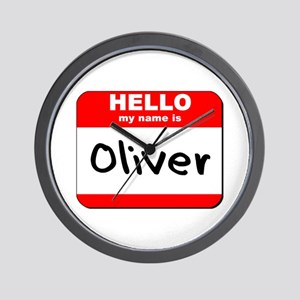 Hello my name is Oliver Wall Clock