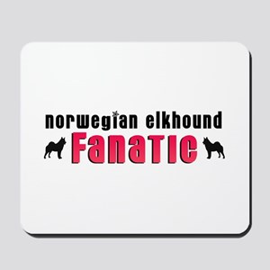 Norwegian Elkhound Fanatic Mousepad