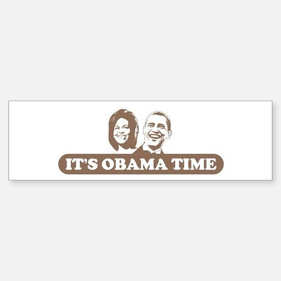 It's Obama Time Bumper Bumper Bumper Sticker