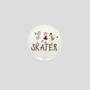 Skater Mini Button