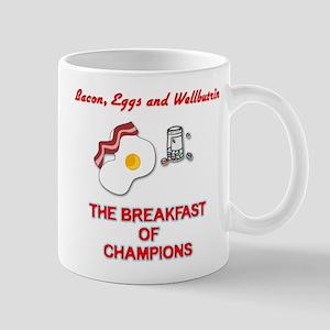 The Breakfast of Champions 1 Mug
