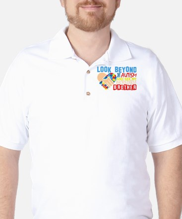 Look Beyond Autism And See My Incredibl Golf Shirt