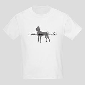 Miniature Pinscher Kids Light T-Shirt