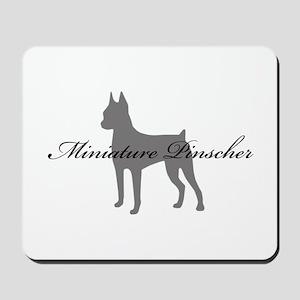 Miniature Pinscher Mousepad