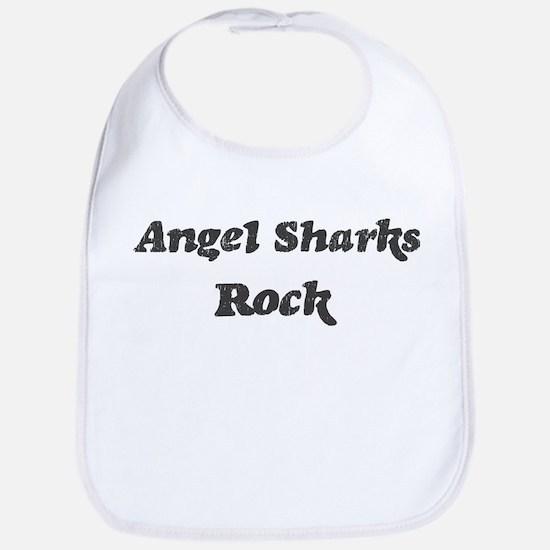 Angel Sharkss rock Bib
