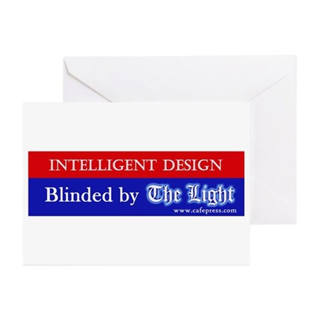Blinded by The Light Greeting Cards (Pk of 10)