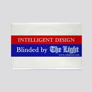 Blinded by The Light Rectangle Magnet