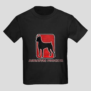 Miniature Pinscher Kids Dark T-Shirt