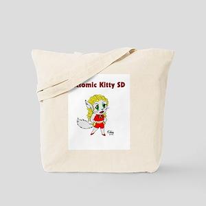 Atomic Kitty Pose & Peril Tote Bag