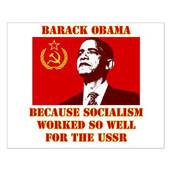 Obama sucks Small Poster