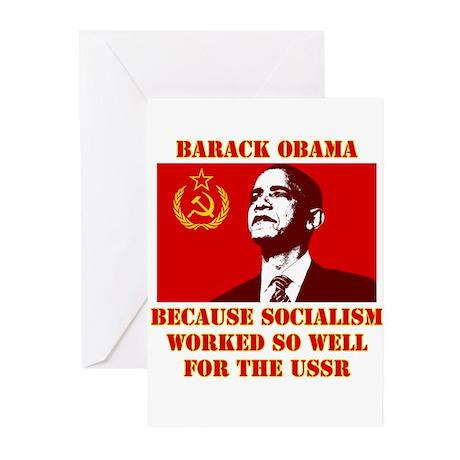 Obama sucks Greeting Cards (Pk of 10)