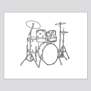 Drumset Small Poster