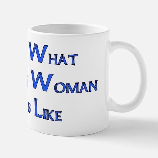 Strong Woman Example Mug