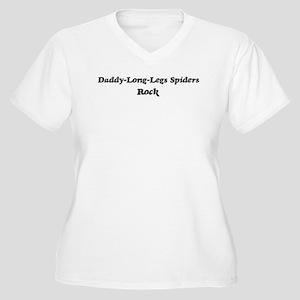 Daddy-Long-Legs Spiderss roc Women's Plus Size V-N