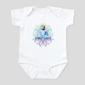 peaceful buddha Infant Bodysuit
