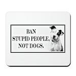 Ban Stupid People Mousepad