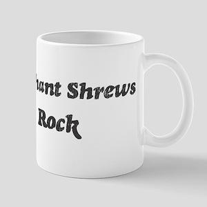 Elephant Shrewss rock Mug