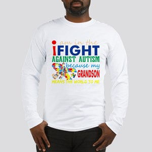 Im Fight Against Autism Grands Long Sleeve T-Shirt