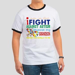 Im Fight Against Autism Grandson Means Wor T-Shirt