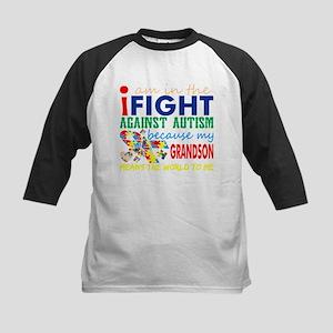 Im Fight Against Autism Grandson M Baseball Jersey