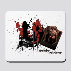 Chocolate Labrador Mousepad