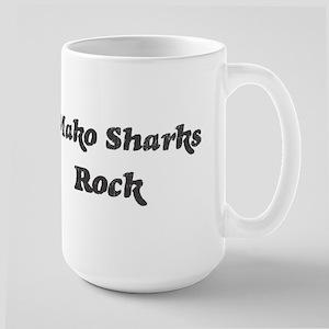 Mako Sharkss rock Large Mug