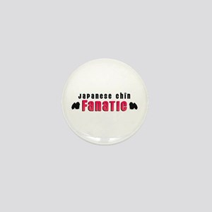 Japanese Chin Fanatic Mini Button