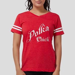 Polka Chick Women's Dark T-Shirt