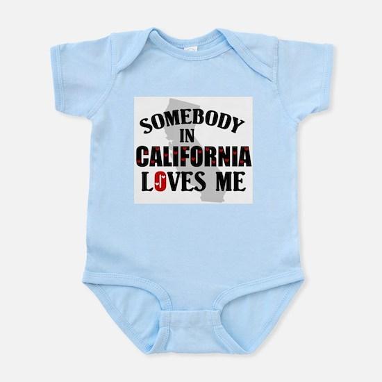 Somebody In California Infant Creeper