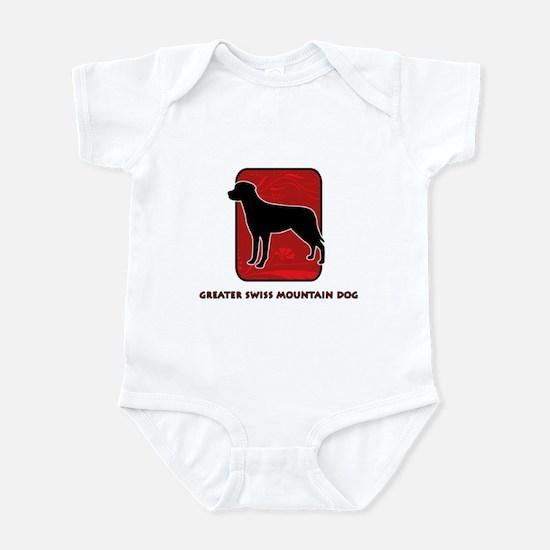 Greater Swiss Mountain Dog Infant Bodysuit