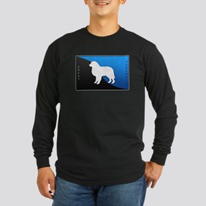 Great Pyrenees Long Sleeve Dark T-Shirt