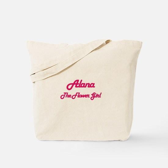 Alana - The Flower Girl Tote Bag