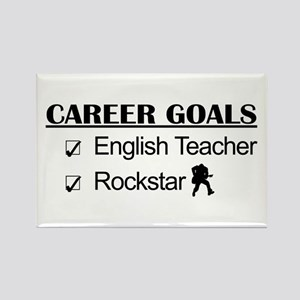 English Teacher Career Goals - Rockstar Rectangle