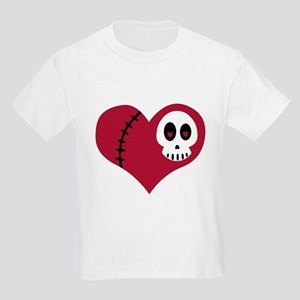 Skull Heart Kids Light T-Shirt
