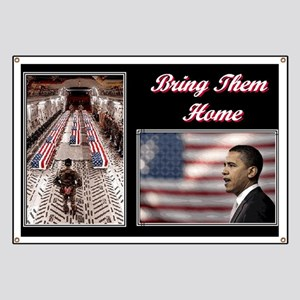 Bring Them Home Obama Banner