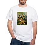 Spirit'76/Wheaten T White T-Shirt