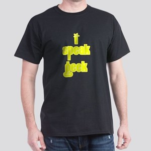 I Speak Geek Dark T-Shirt