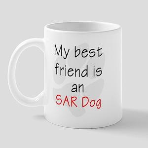 My Best Friend is an SAR Dog Mug