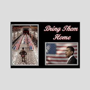 Bring Them Home Obama Rectangle Magnet