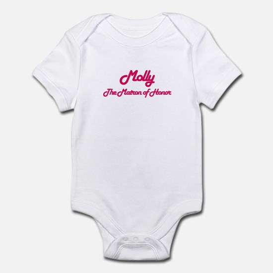 Molly - Matron of Honor Infant Bodysuit