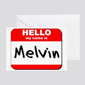Hello my name is Melvin Greeting Card