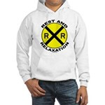 RR = Rest and Relaxation Hooded Sweatshirt