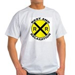 RR = Rest and Relaxation Light T-Shirt