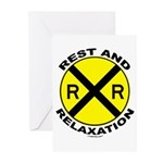 RR = Rest and Relaxation Greeting Cards (Pk of 10)