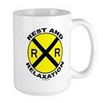 RR = Rest and Relaxation Large Mug